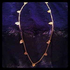 Jewelry - Mulit heart gold choaker